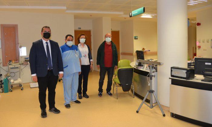 Eskişehir İl Sağlık Müdürü Prof. Dr. Uğur Bilge, Covid-19 Hastalarını Ziyaret Etti